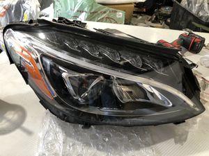 2015 2016 2017 Mercedes C Class C300 part Headlight Right LED OEM for Sale in El Monte, CA