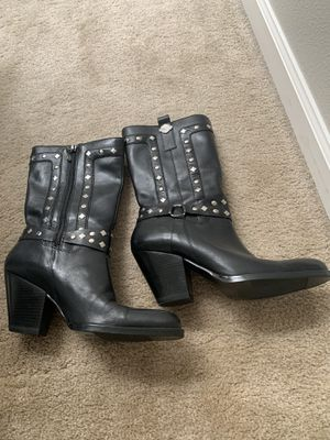Harley Davidson leather boots -SZ 9 for Sale in West Linn, OR