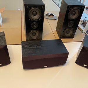 Onyko SKF-100 5 Speaker System, Bookshelf 100 Watt for Sale in Sacaton, AZ