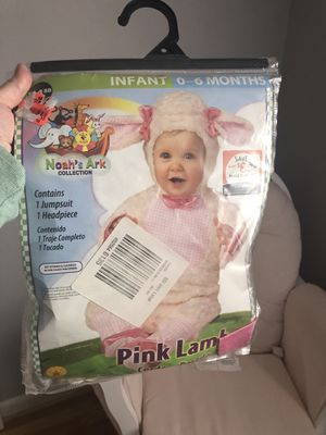 Pink Lamb Halloween baby costume for Sale in North Wales, PA