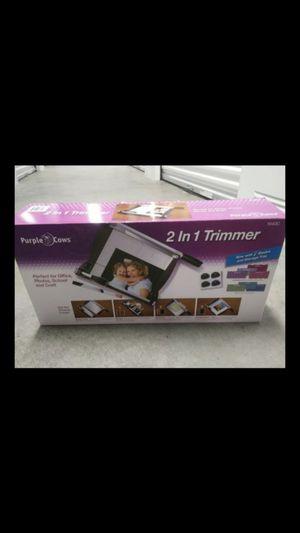 2 in 1 photo trimmer for Sale in Virginia Beach, VA