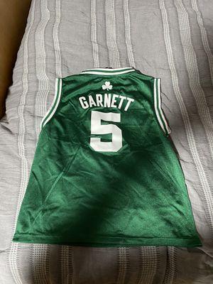 Boston Celtics Kevin Garnett kids jersey for Sale in Lynnfield, MA
