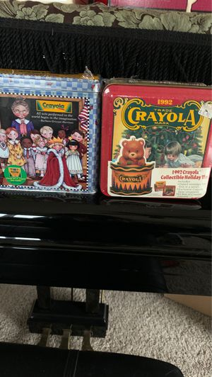 NiB : Crayola crayons collector Boxes for Sale in Chippewa Falls, WI