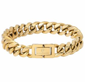 18K Gold Cuban Link Bracelet for Men, Miami Cuban Link Curb Chains, Durable Urban Street-wear Hip Hop Bracelet for Men, 10mm for Sale in Chino, CA
