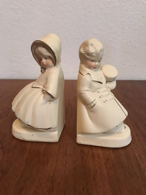 Coventry Ware Chalkware Bookends for Sale in Tempe, AZ