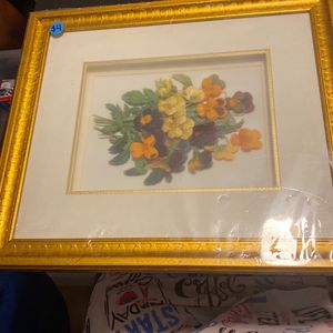 Flower Picture Frame for Sale in Haines City, FL