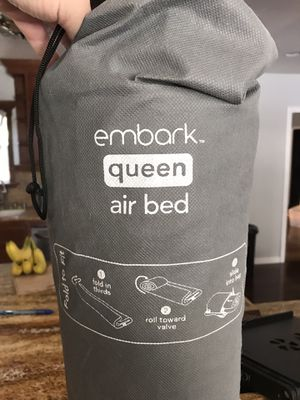 Queen embark air bed for Sale in Fresno, CA