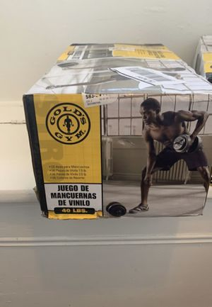 Gold gyms 40lb adjustable weight for Sale in Queens, NY