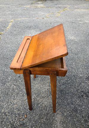 Kids school desk solid oak for Sale in North Brunswick Township, NJ