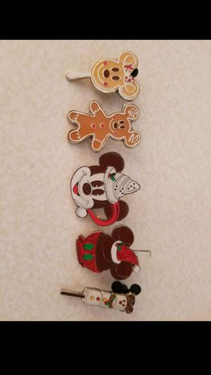 Disney Holiday Treats HTF Mickey Mouse Trading PIN SET for Sale in Los Angeles, CA