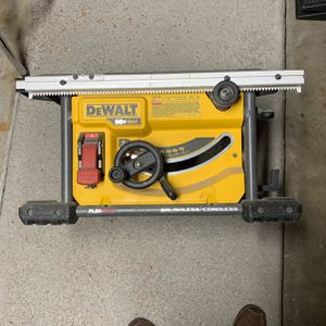 Dewalt Table Cordless Table Saw for Sale in St. Louis, MO