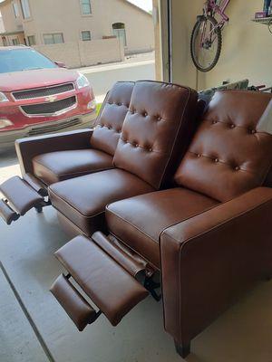 Abbyson sofa recliner for Sale in Tolleson, AZ