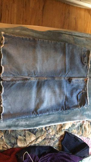 Denim midi skirt for Sale in Farmville, NC