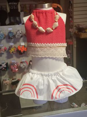 baby moana custom outfit for Sale in Glendale, AZ
