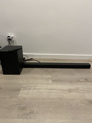 Insignia Sound bar & Subwoofer for Sale in Los Angeles, CA