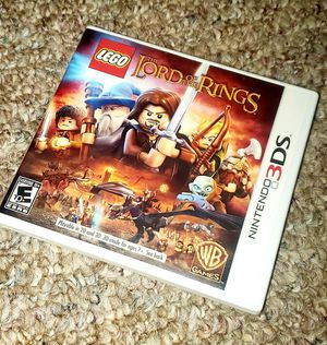 NINTENDO 3DS LEGO LORD OF THE RINGS for Sale in North Providence, RI