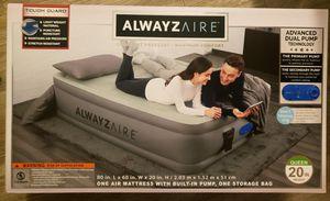 AlwayzAire Tough Guard 20in. Queen Air Mattress for Sale in Phoenix, AZ