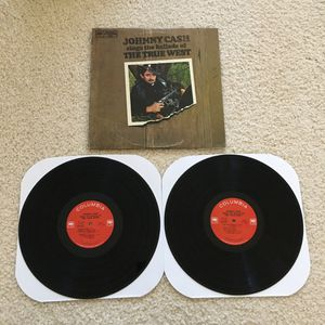"Johnny Cash ""Johnny Cash Sings The Ballads Of The True West"" double vinyl 1965 Columbia Records -1Amatrix very nice copy Country for Sale in Laguna Niguel, CA"