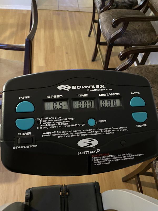 Bow flex treadclimber tc 1000