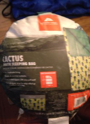 Ozark Trail child's cactus sleeping bag for Sale in Cary, NC
