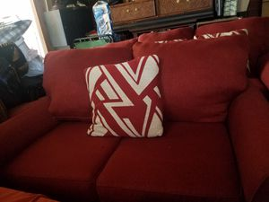Sofa and Loveseat with cushions for Sale in West Valley City, UT