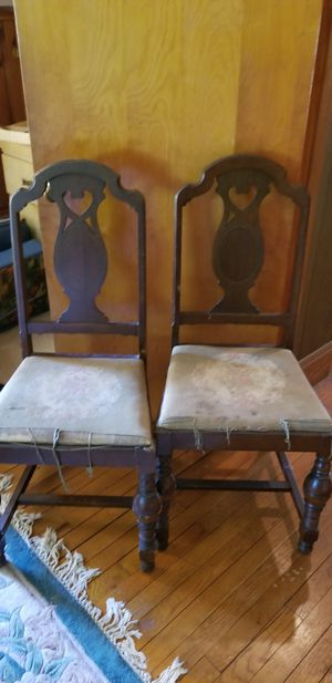 Pair of antique chairs for Sale in Rosedale, MD
