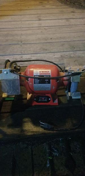 "6"" bench grinder for Sale in Broadway, VA"