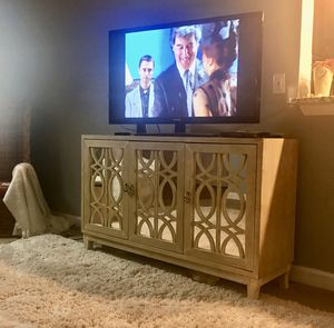 Large Mirrored Console: EXCELLENT CONDITION NOW ONLY $388 UNTIL DEC 10th for Sale in Morrisville, NC