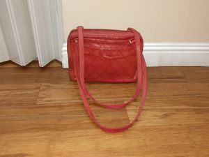 Chanel red quilted shoulder bag for Sale in San Jose, CA