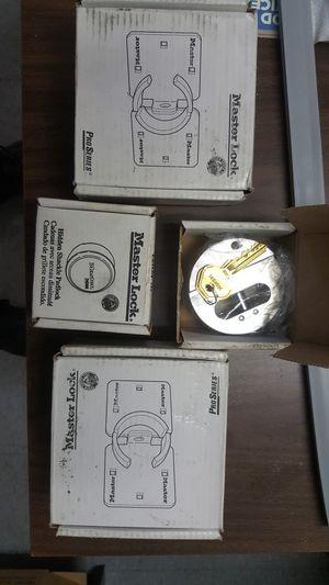 Master lock for vans trucks etc brand spanking new 2 pair for Sale in Herndon, VA