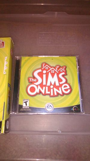 The Sims online pc for Sale in Stockton, CA
