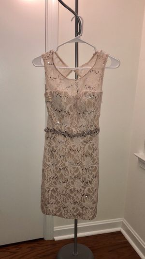 Blush lace dress for Sale in Aspen Hill, MD