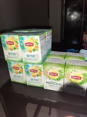 Lipton detox tea and green tea for Sale in Germantown, MD