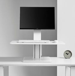 Humanscale Quickstand Sit-to-Stand Standing Desk Converter, White NEW for Sale in Lakeville,  MN