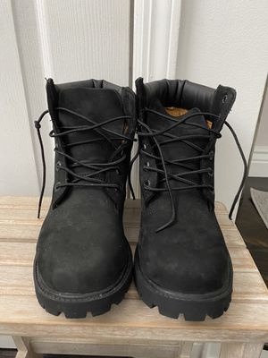 Black Timberland Boots, kids sz 4 for Sale in Hastings-on-Hudson, NY