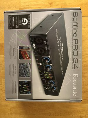 Focusrite Saffire Pro 24 for Sale in Los Angeles, CA