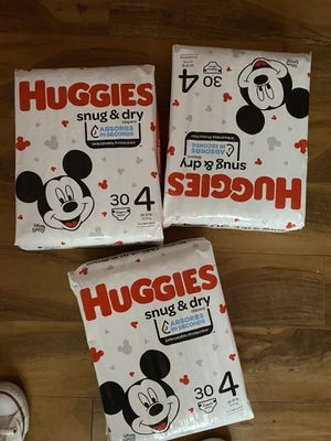 Huggies Snug & dry for Sale in Charlotte, NC
