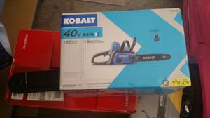 Kobal chainsaw 40v for Sale in North Las Vegas, NV