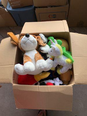 Stuffed animals box (entire) for Sale in Redmond, WA