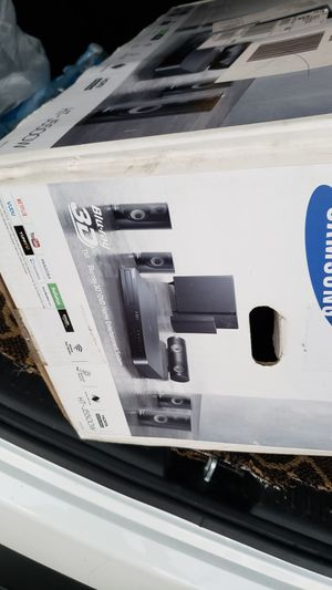 Samsung HT-J5500W5.1. ..No Blu-ray ..speakers and subwoofer only new for Sale in Anaheim, CA