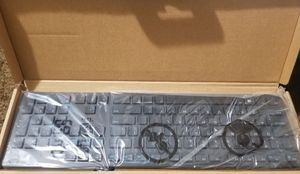 Dell Multimedia Keyboard Wired USB KB216 US International (QWERTY) Black for Sale in Chula Vista, CA