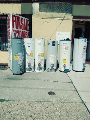 40-gallon hot water heater repairs and installs for Sale in Detroit, MI
