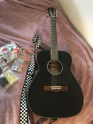 Black Fender Guitar ( like new ) for Sale in Los Angeles, CA