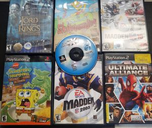 PlayStation 2 system with games controllers and carry bag for Sale in Morton Grove, IL