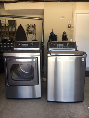 LG washer/dryer set for Sale in Carlsbad, CA