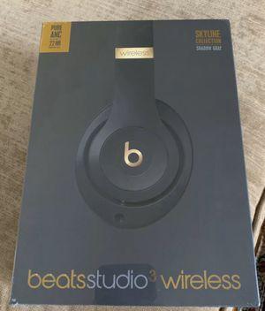 Beats Studio 3 Wireless Headphones - Skyline (shadow gray) - BRAND NEW for Sale in Scarsdale, NY