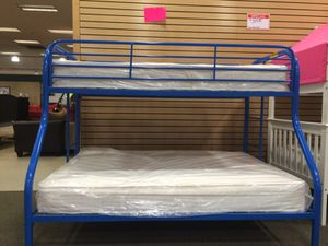 Twin over full bunk bed for Sale in Cleveland, OH