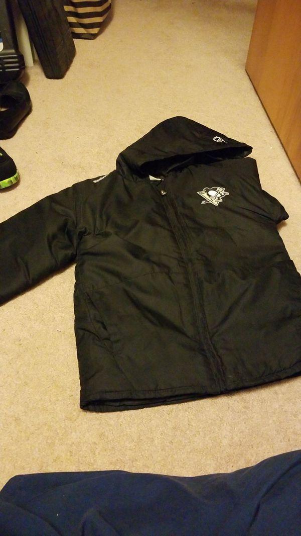 Pittsburgh Penguins Reebok youth winter coat