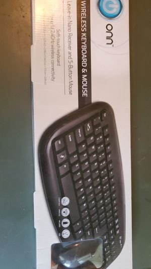 Wireless keyboard and mouse for Sale in Independence, MO