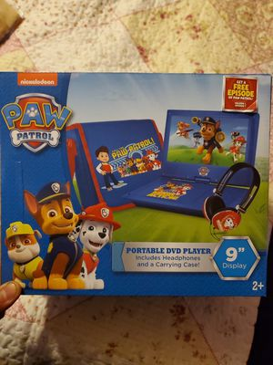 Paw Patrol theme protable DVD/CD player for Sale in Pomona, CA